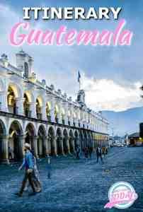 Guatemala tinerary