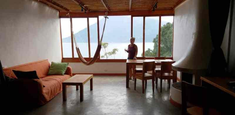 Pasaj Cap at Lake Atitlan