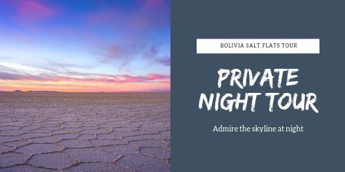 Private Night Tour Salar de Uyuni