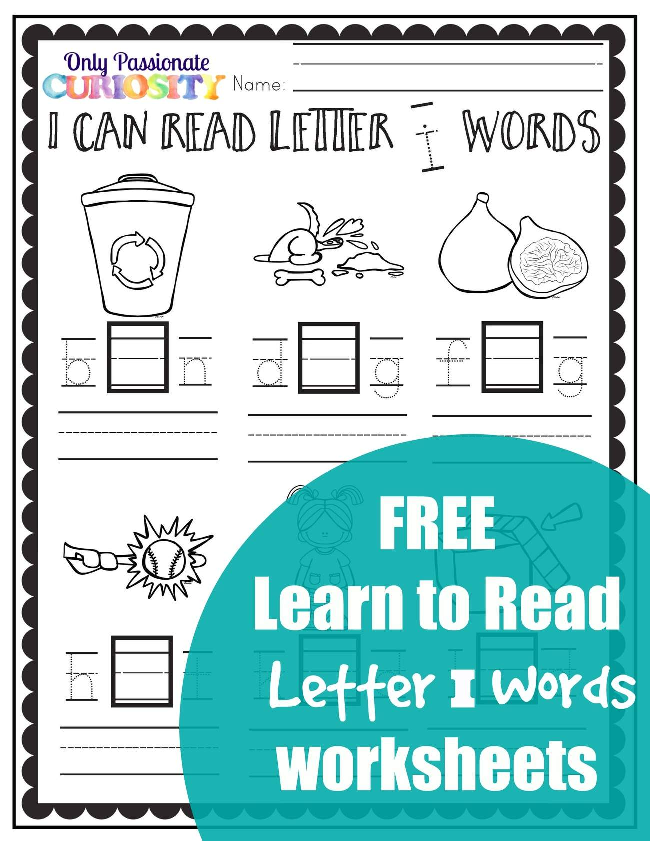Learn To Read Cvc Words Middle I Sounds