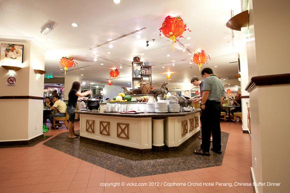 Terrace Bay Restaurant Copthorne Orchid Hotel Penang