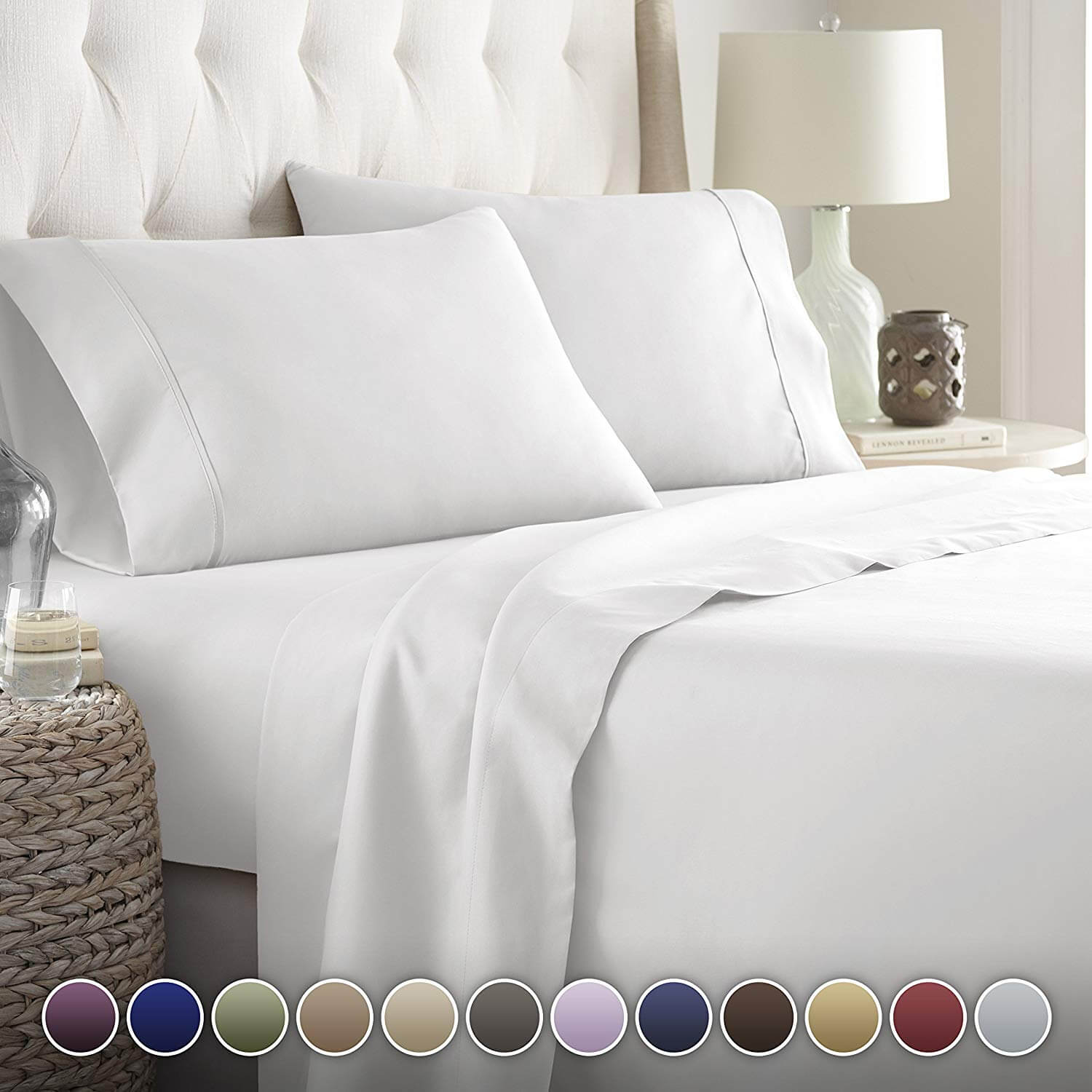 Top 10 Best King Size Bed Sheets In Reviews