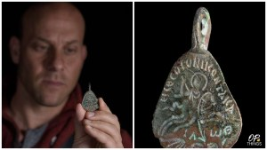 Archaeologists unearth 1500-year-old amulet that protected women and children from evil spirits