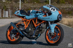 Gulf Racing Livery Worn by Best Ducati 750SS Looks Fascinating!