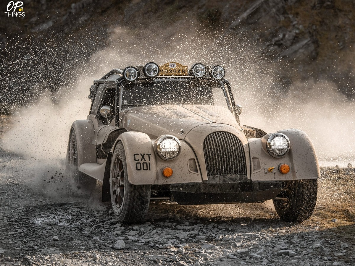 Morgan Plus Four CX-T $240,000 is a Vintage Style Rally-Ready Roadster!