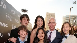 Meet Jeff Bezos', 3 sons and 1 adopted daughter!