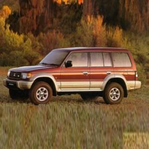 Mitsubishi Pajero Workshop Manual 19911999  Only Repair