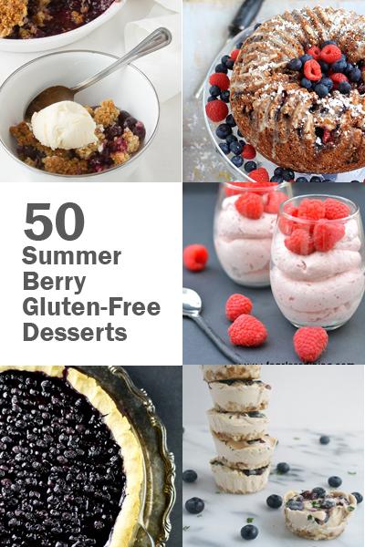 50 Summer Berry Gluten-Free Desserts