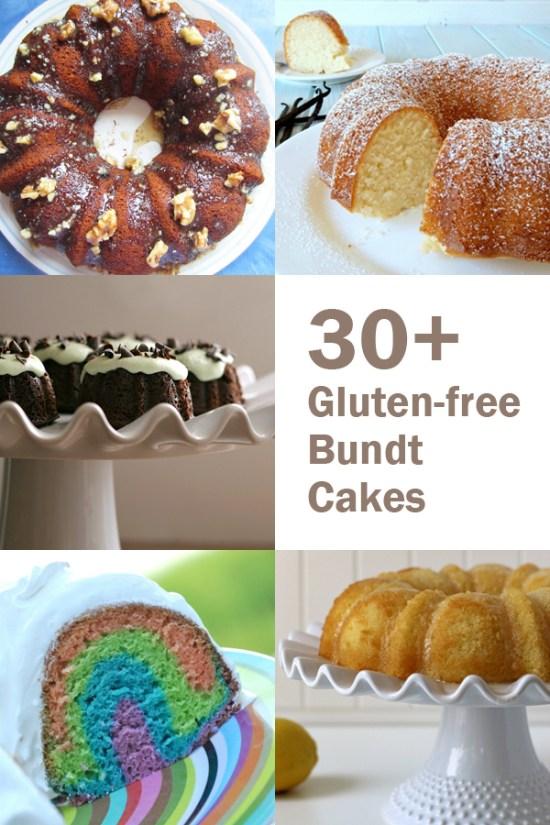 30+ Gluten-Free Bundt Cakes