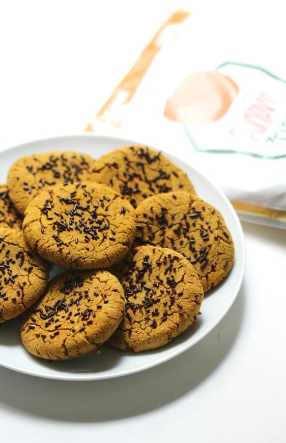 Soft Grainless Pumpkin-SpiceLatte Cookies