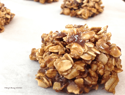 Sun Butter No Bake Granola Clusters from Mary's Busy Kitchen