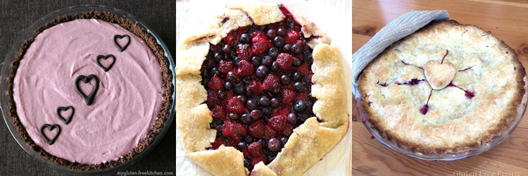 Happy Pi Day! Celebrate by enjoying these mouthwatering, gluten-free pies! OnlyTasteMatters.com