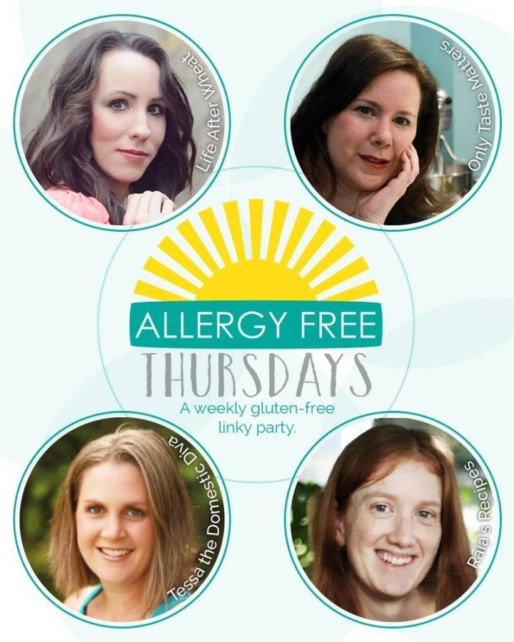 The Hostesses of Allergy-Free Thursdays: A Weekly Healthy Living Linky Party