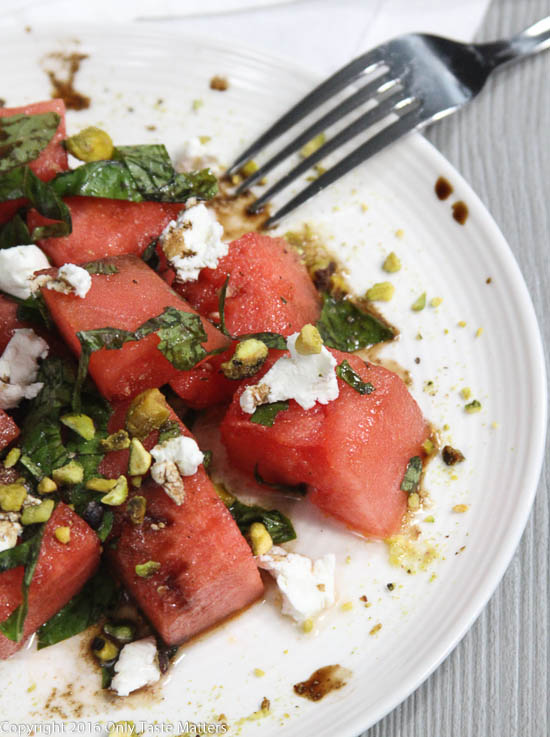 Paleo Watermelon Salad | Only Taste Matters