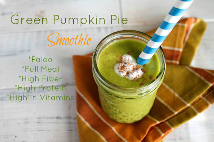 Paleo Pumpkin Smoothies | Only Taste Matters