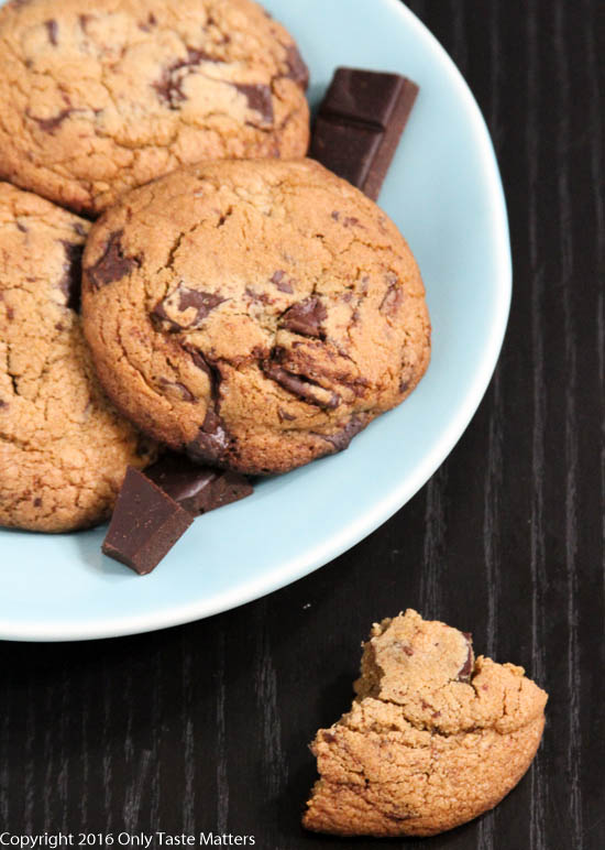 The Ultimate Gluten-Free Chocolate Chip Cookie, Top Ten Recipes of 2016 | Only Taste Matters