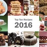 Top Ten Recipes of 2016