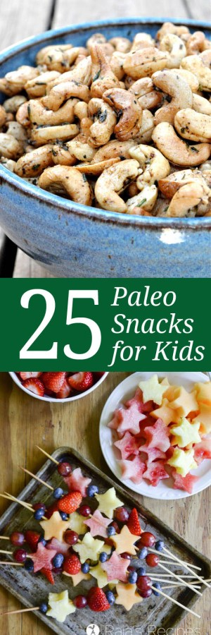 25 Paleo Snacks for Kids {and the Kid in All of Us} | Only Taste Matters