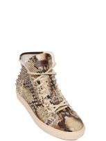 Giacomorelli Spiked Python High top Sneakers [678] 3