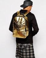 Sprayground Gold Brick Backpack 3