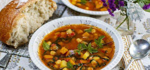 Средиземноморский суп