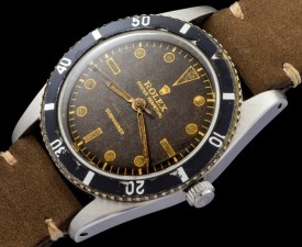 Rolex The Submariner 6204 retailed by Serpico y Laino 1