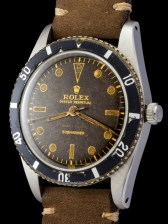 Rolex The Submariner 6204 retailed by Serpico y Laino 2