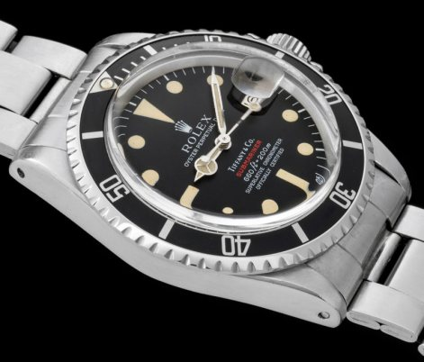 "Rolex ""The 1680 red Submariner retailed by Tiffany"" 3"