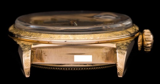 Rolex The rose gold first series Day Date ref 1803 9