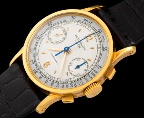 """Patek Philippe """"The yellow gold ref. 533 retailed by Hausmann"""" 1"""