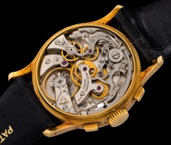 """Patek Philippe """"The yellow gold ref. 533 retailed by Hausmann"""" 6"""