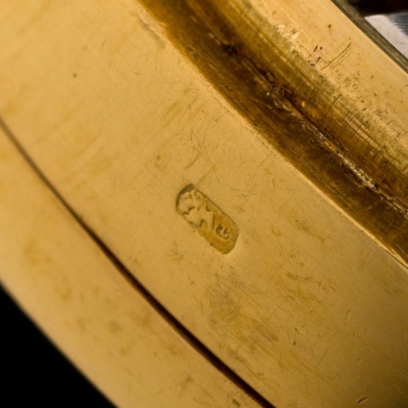 """Patek Philippe """"The yellow gold ref. 533 retailed by Hausmann"""" 8"""