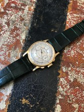 """Patek Philippe """"The yellow gold ref. 130 retailed by Walser Wald"""" nat 1"""