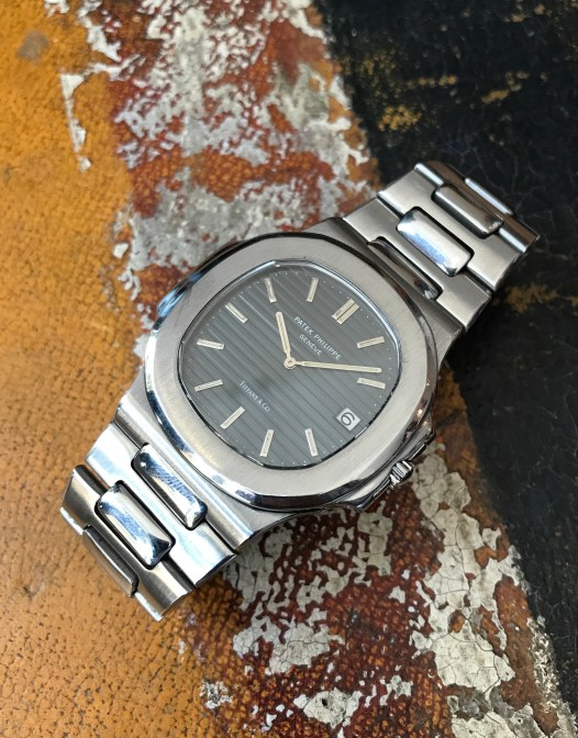 "Patek Philippe ""The Steel Nautilus ref 3700 retailed by Tiffany"" nat 1"