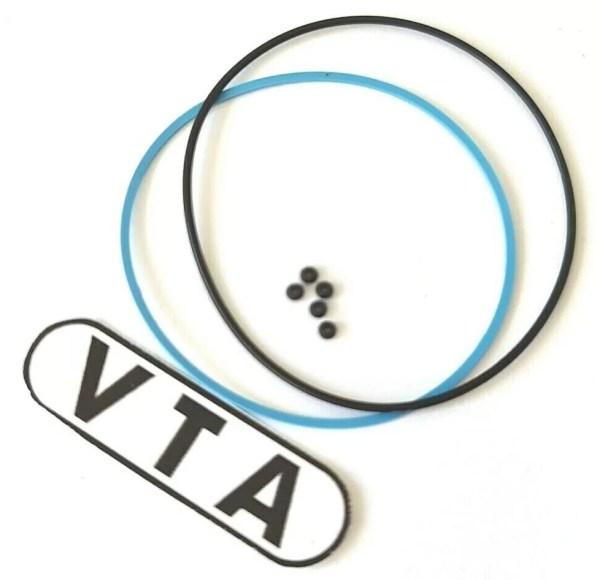 """VTA gasket set for Seiko 7T34-6A00 and 7T34-6A09 """"Flightmaster"""" Quartz Chronograph"""