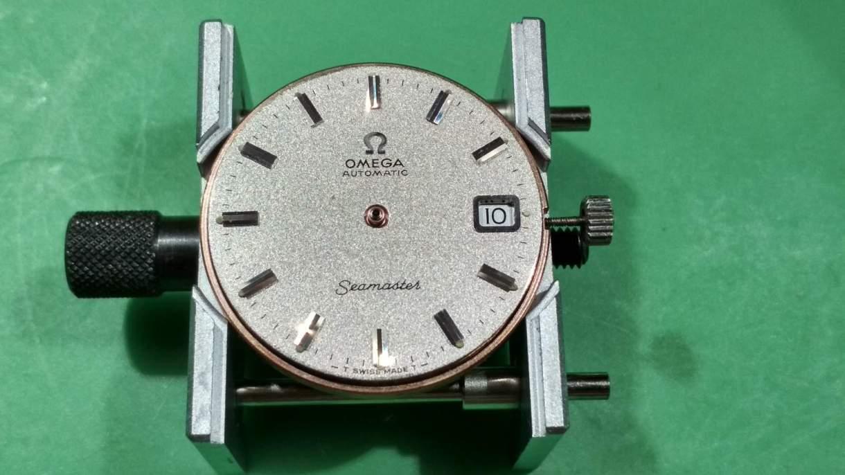 1972 Omega Seamaster - dial