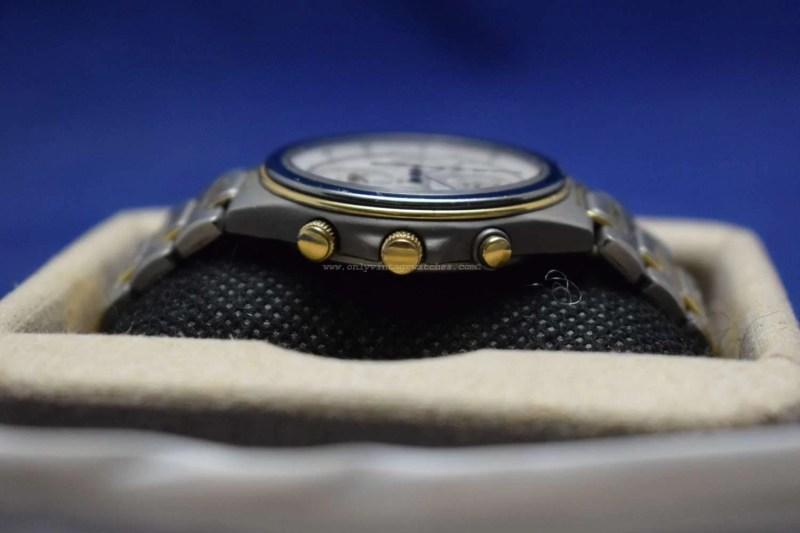 Vintage Seiko 7T44-6A00 Quartz-Chronograph