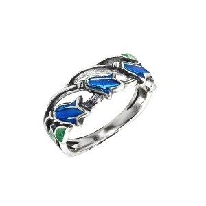 bluebells ring sterling silver 925 onlyway jewelry