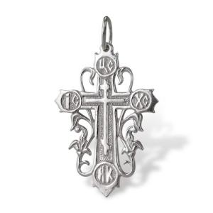 Sterling Silver Religious Cross Pendant by Onlyway Jewelry