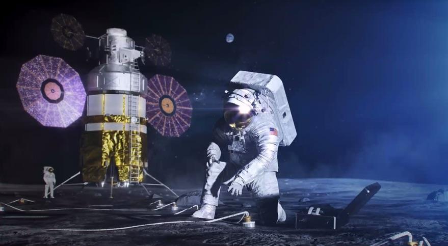 Доклад НАСА о долгосрочном исследовании Луны человеком