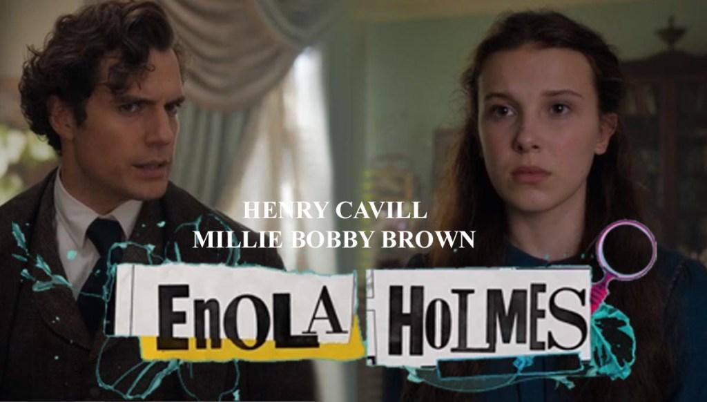 Энола Холмс - фильм 2020 - Enola Holmes  Enola holmes Millie Bobby Brown ONLYWAY NEWS