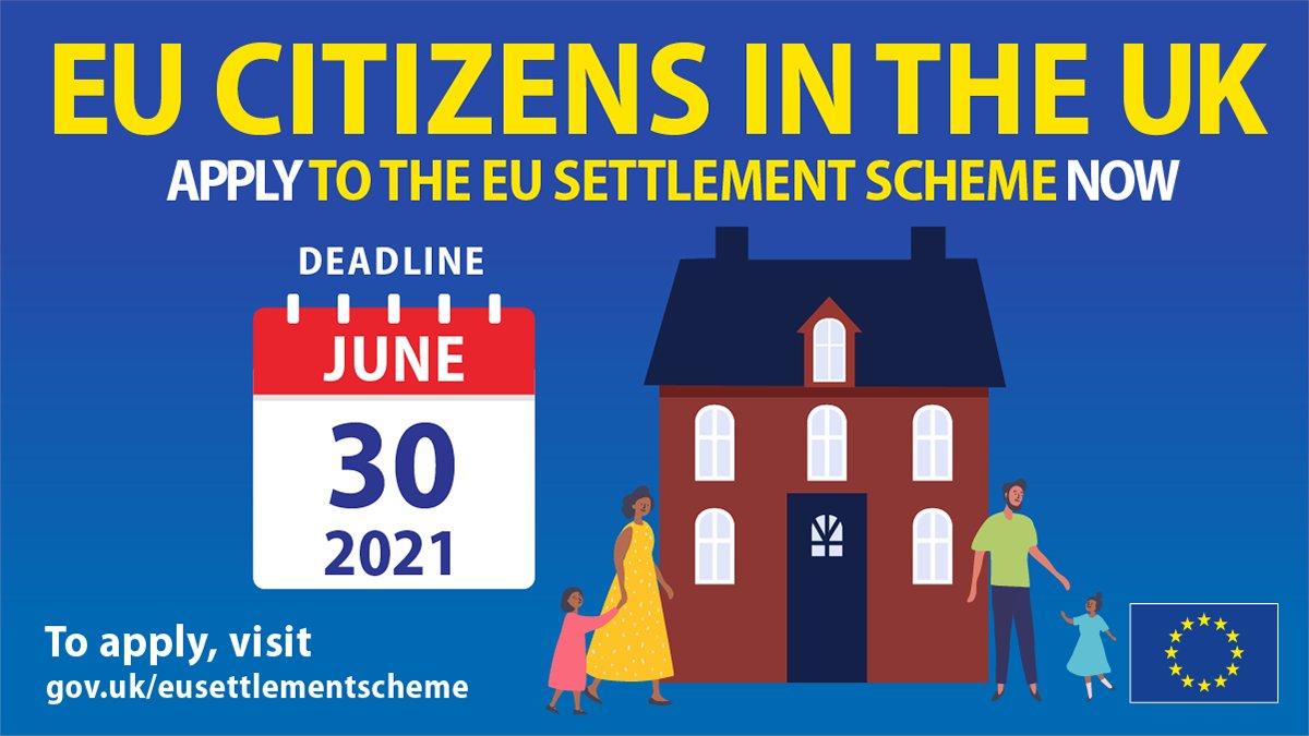 30 июня 2021 года окончательный день подачи заявок на получение статуса в UK