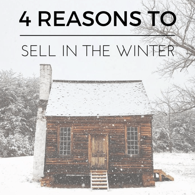 4 Wonderful Reasons to Sell