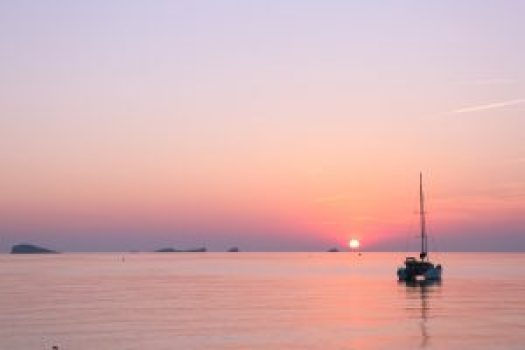 Cala conta sunset ibiza