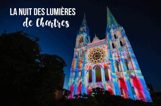 nuit des lumières à Chartres blog