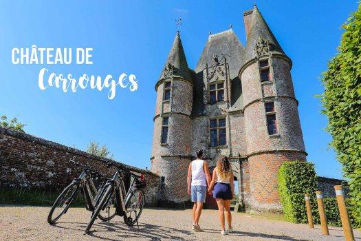 véloscénie château de Carrouges blog