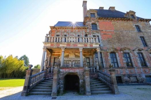château de Ducey véloscénie