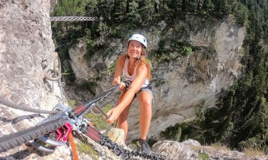 Activités à faire en montagne : via ferrata