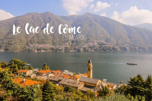 Lombardie Lac de come
