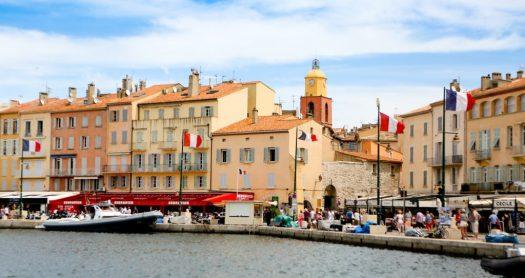 port de Saint Tropez, sud de la France blog